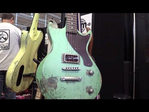SNAMM '15 - Nikita Guitars Wilma & Dylan Pickups DAF Demos