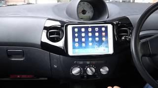 iPad miniで地デジが見れちゃう簡単車載取り付け