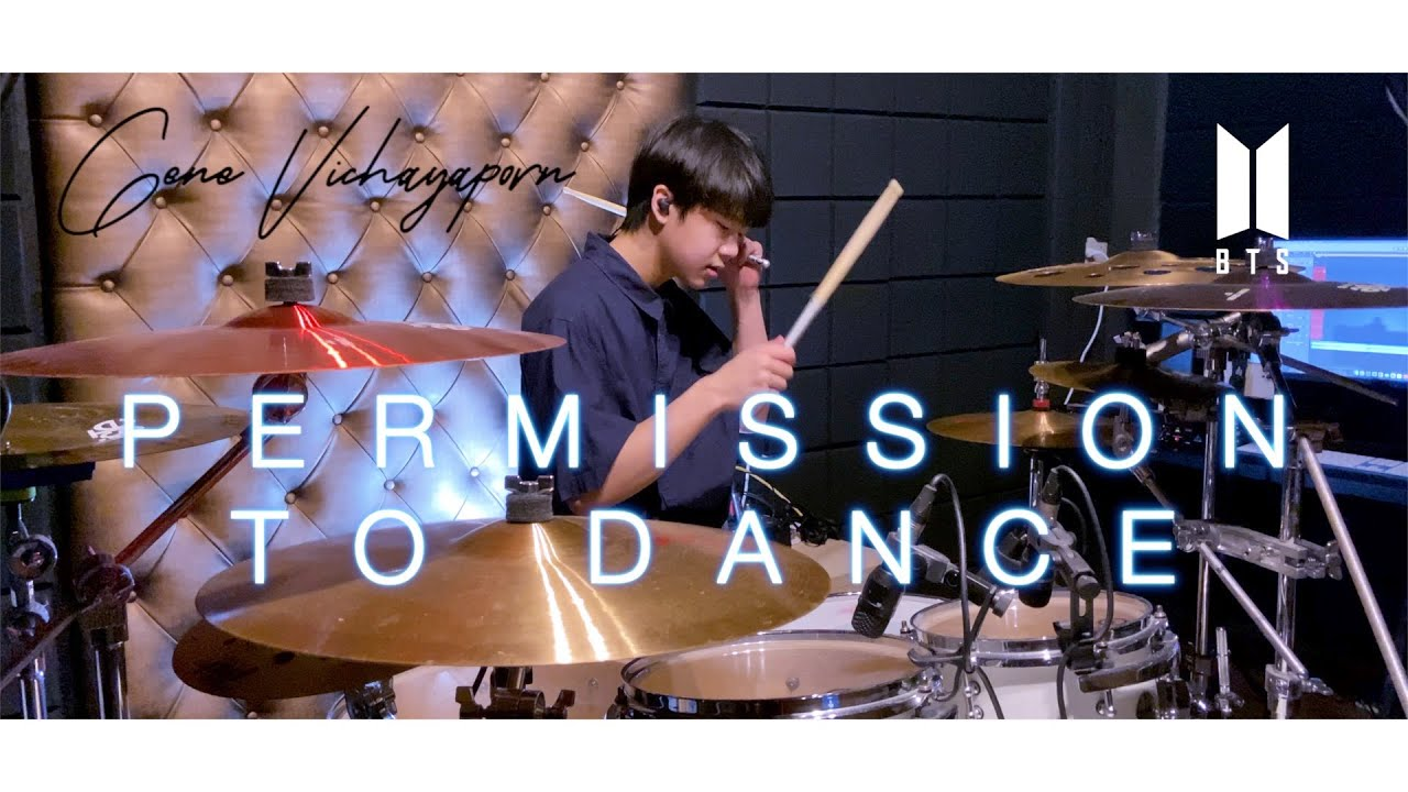 BTS (방탄소년단) - 'Permission to Dance'   Drum Cover   Gene 14 Years old