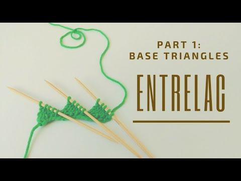 Youtube-Tutorial: Entrelac stricken | Part 1: Base Triangles
