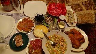 229#мои приготовления новогоднего стола