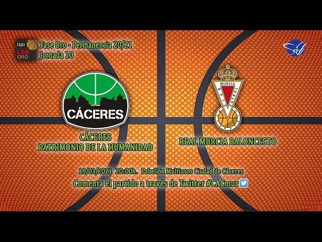 Cáceres Patrimonio de la Humanidad - Real Murcia Baloncesto (LEB Oro 20/21)