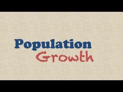 Population Growth: Exponential & Logistic Growth