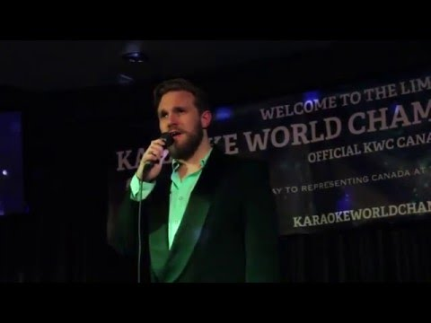 SAMUEL PLETT: Week 1 Qualifications for the National Karaoke Championships 2016 (Winnipeg)