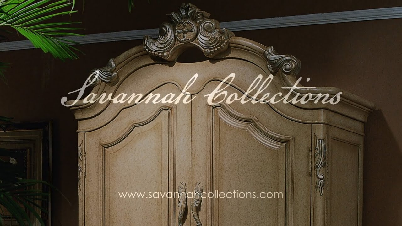 Delicieux Victorian Furniture Armoire (Antique Bisque) By Savannah Collections   Marge  Carson