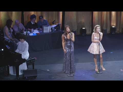 """Queen USA 2016:  Betty Cantrell & Hailie Sahar sing """"Born This Way"""" with Our Lady J"""