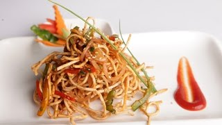 Crispy Chinese Bhel Recipe With Philips Air Fryer By Vahchef