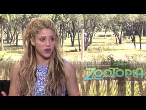 Zootopia Shakira Quot Gazelle Quot Official Movie Interview Youtube