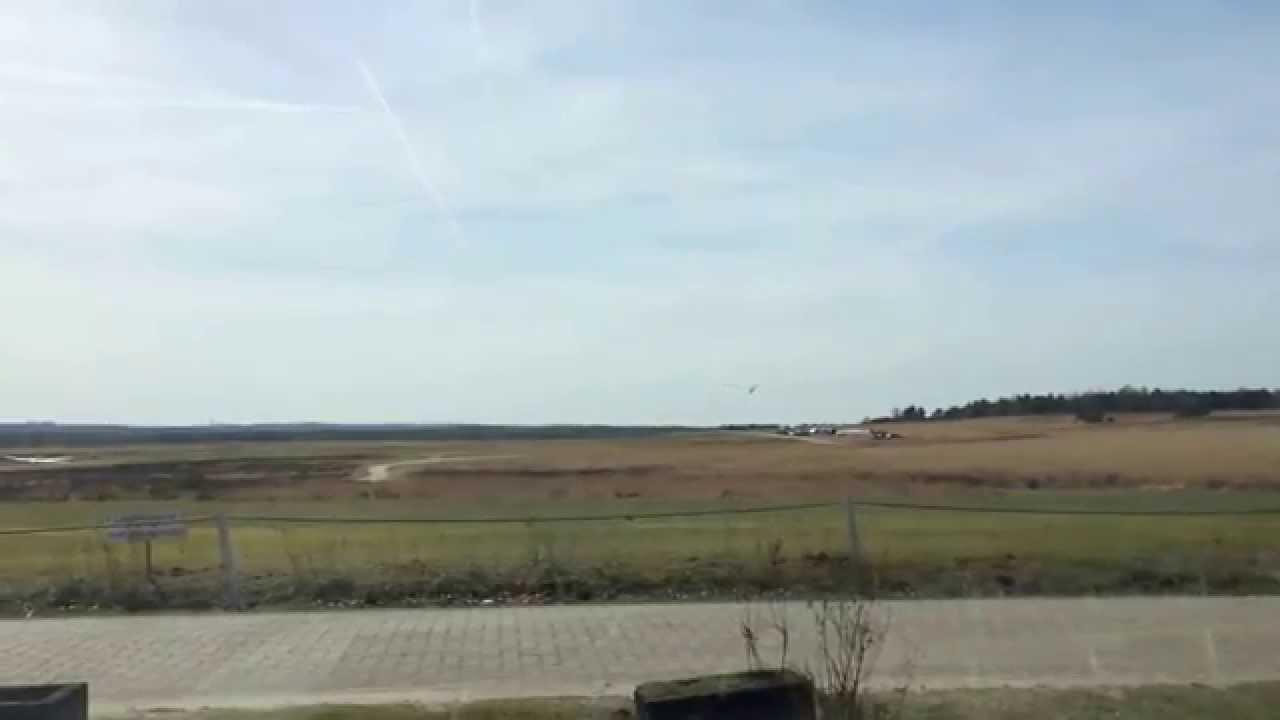 Vliegveld Terlet Gelderland Zweefvliegtuig Landingen