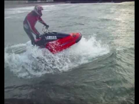 Isle of Man JET SKI wave jumping