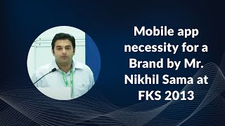 Mobile app necessity for a Brand by Mr
