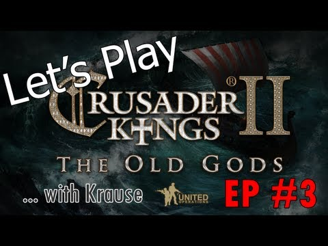 Let's Play Crusader Kings 2 Old Gods DLC Multiplayer - Passing of the King and Varangian Steel