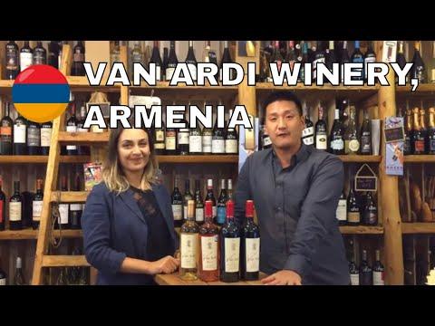 Armenian Wine From Van Ardi