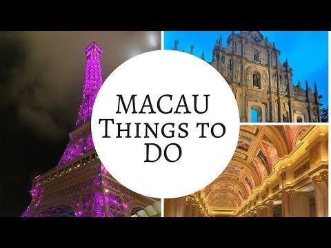 Macau Day Trip, Top things to do. Macau Vlog. MACAU TRAVEL GUIDE