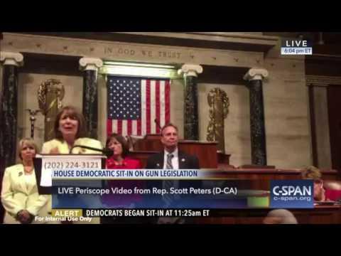 Rep. Susan Davis on gun control during House sit-in