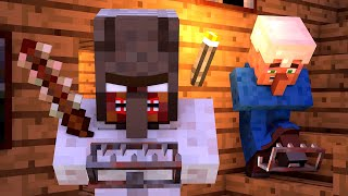 Granny vs Villager Life 3 - Granny Horror Game Minecraft Animation Alien Being