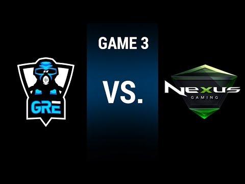 LGC Season 3 Playoffs | Greek Regenesis Esports vs. Nexus Gaming (Game 3)