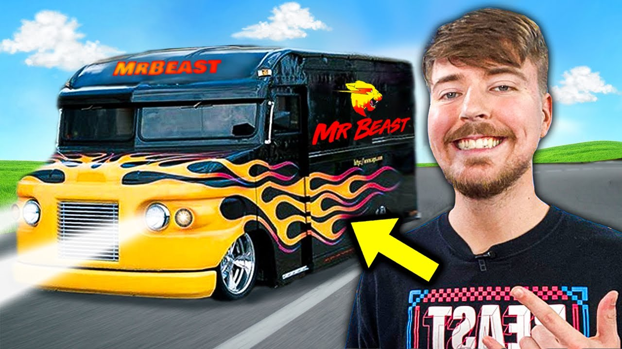 5 MOST EXPENSIVE YouTubers Cars! (MrBeast, Jelly, Preston)