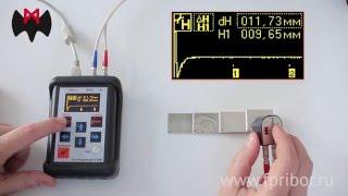 видео ультразвуковой толщиномер
