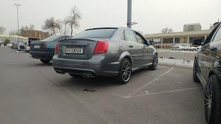 Супер Тюнинг Шевроле Лачетти в обвесе от Mercedes w221