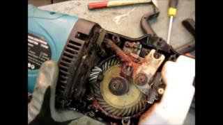 Ремонт Електропили(ТРІСК ПРИ РОБОТІ ). Заміна шестерні 2.Repair of the electric saw Gear replacement