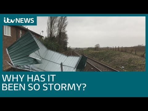 Why has it been so stormy, and what's still to come? | ITV News