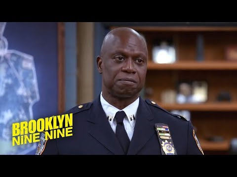 Captain Holt's Emotional Farewell | Brooklyn Nine-Nine