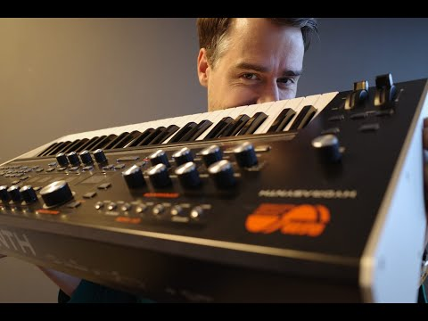 Stimming reviews the ASM Hydrasynth (Electronic Beats TV)