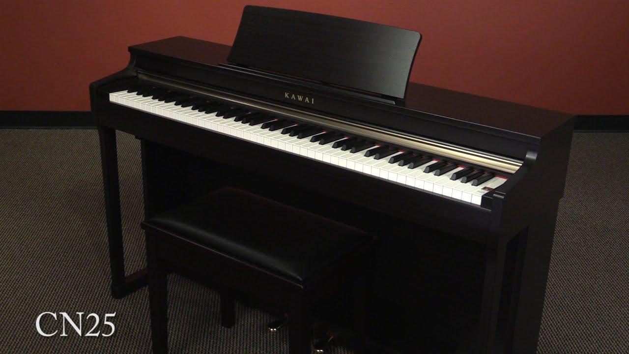 kawai cn25 digital piano demo youtube. Black Bedroom Furniture Sets. Home Design Ideas