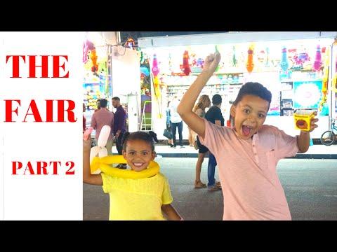 THE FAIR KIDS FUN part 2 Theme park rides   La feria Spain      Summer fun
