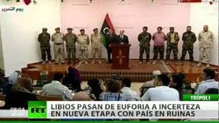 De sueño a pesadilla: La exitosa rebelión libia se convierte en desastre