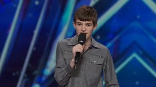 America's Got Talent 2015 S10E06 15 Year Old Leo Lytel and Other Stand up Comedians
