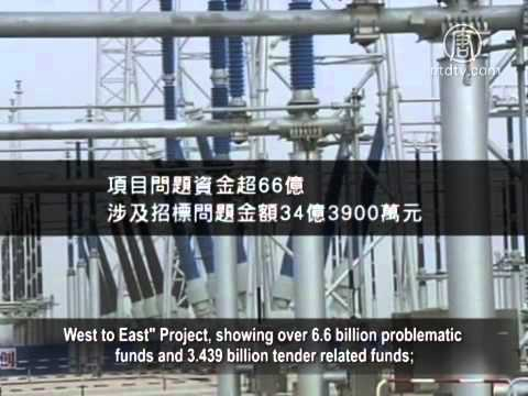 China Financial Audit Reports Exposed Public Funds Embezzlement.