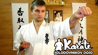 Техника киокушинкай каратэ10 кю /Technique Kyokushinkai karate 10 Kyu