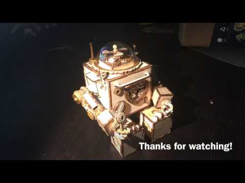 Orpheus Robot Music Box Build