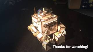 Orpheus Robot Music Box Build