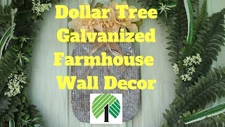 Dollar Tree DIY Farmhouse Mason Jar Wall Decor