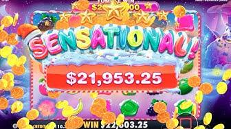 👑 Sweet Bonanza Xmas RECORD BIG WIN 💰 A Game By Pragmatic Play.