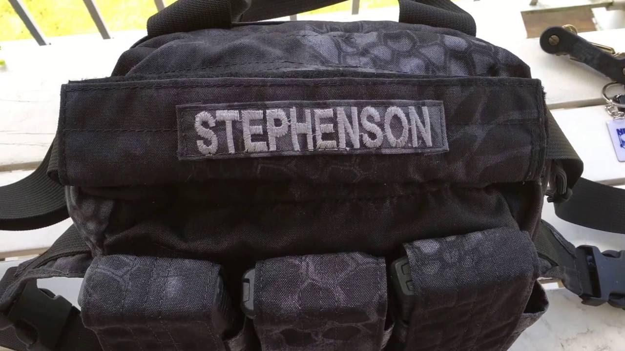 Special Operations Equipment Soe Active Shooter Bag In Kryptek Typhon