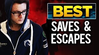 BEST Saves & Escapes in Dota 2 History