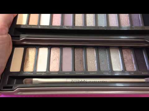 urban decay naked2 palette real vs fake youtube