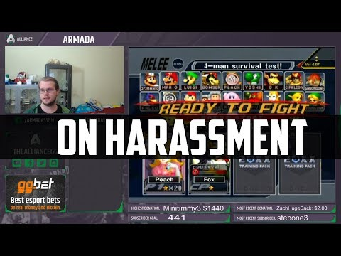 On Harassment in the Smash Community (ZeRo Article)