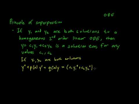 3.1 The principle of superposition