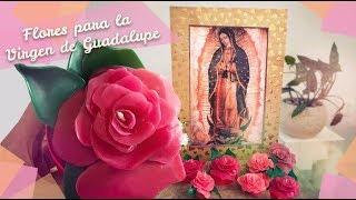 Rosas de Cera para la Virgen :: Veladoras en forma de Rosa :: Chuladas Creativas