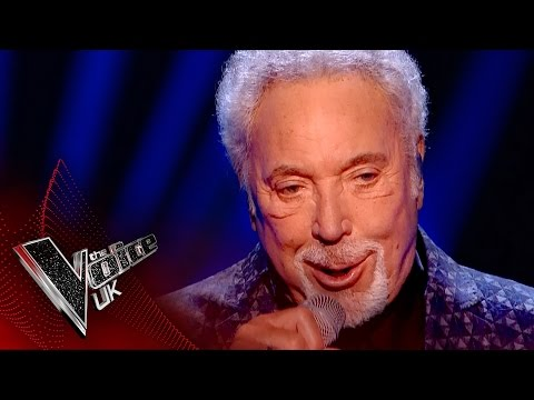 Tom Jones performs 'You Can Leave Your Hat On' | The Voice UK 2017