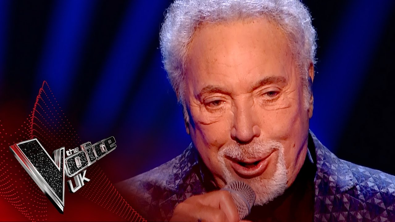 Tom Jones Performs You Can Leave Your Hat On The Voice Uk 2017