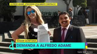 ¡Susan Quintana demanda por daño moral a Alfredo Adame! | De Primera Mano