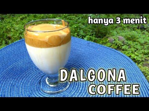 DALGONA COFFEE - RESEP SIMPLE DAN CARA MEMBUAT KOPI ...