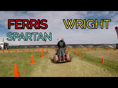 Ed Wright+Brians Lawn maintenance GIE 2018 MOWER ACTION
