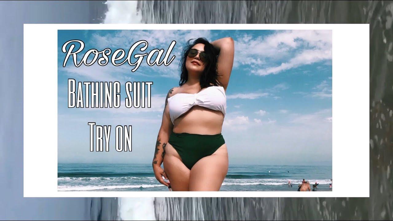 4d3b9fe925448 PLUS SIZE FASHION TRY ON HAUL | RoseGal Swimsuit Haul - YouTube